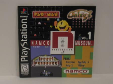 Namco Museum Vol. 1 - PS1 Manual
